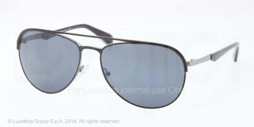 pradaPrada PR51QS Sunglasses-1BO/0A9 Matte Black/Gunmetal (Gray Lens)-59mm