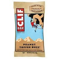 Cliff Bar Clif Bar, Og, Pnt Toffe Buz, 2.40-Ounce (Pack Of 12) ( Value Bulk Multi-Pack)