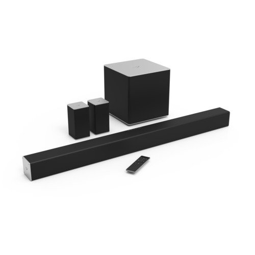 Cheapest Price! VIZIO SB4051-C0 40-Inch 5.1 Channel Sound Bar with Wireless Subwoofer and Satellite ...