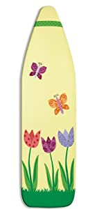 Whitmor 6459-834 Supreme Ironing Board Cover and Pad, Garden