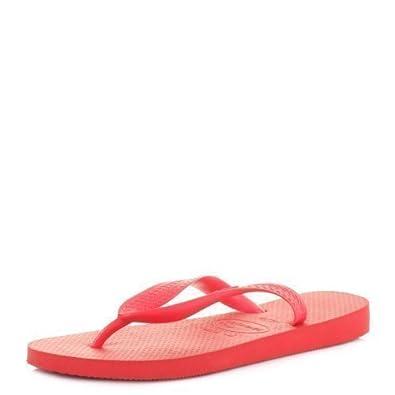 Womens Havaianvas Top Ruby Red Flip Flops Sandals SIZE 5 BRA 37/38