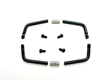 1 Set Pam Bar, Screw, Connector for Panerai Radiomir Black Pvd by EWP