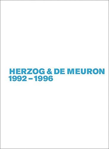 Herzog & De Meuron 1992-1996  [Mack, Gerhard] (Tapa Blanda)