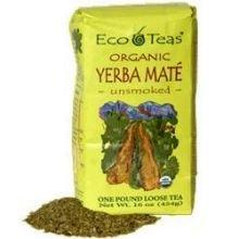 Eco Teas Organic Yerba Mate Loose Tea, 1 Pound -- 6 per case.