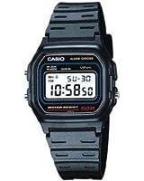 Casio - W-59-1V - Montre Homme - Quartz - Digitale - Alarme/Chronomètre/Eclairage - Bracelet Caoutchouc Noir