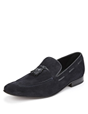 Collezione Suede Stain Defence™ Tassel Slip-On Shoes