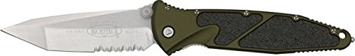 Microtech Socom Elite Knife, Green, 5 1/8in. Closed