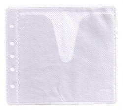 500 CD Double-sided Refill Plastic Sleeve White