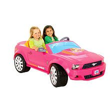 Power Wheels Fisher-Price Barbie Ford Mustang front-619415