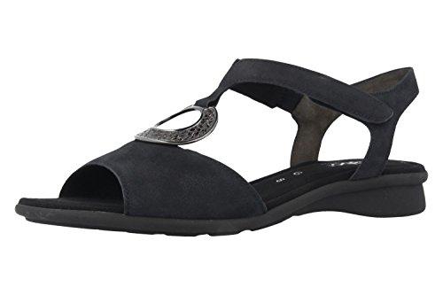 Gabor comfort 46.065.46 Donna Sandali, Blu 42.5 EU