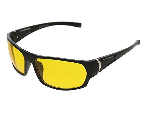 Vast UV Protected Wrap Around Unisex Sunglasses (NT_YELLOW_K|60|Yellow)