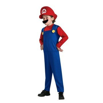 Morris Costumes Halloween Outfit Mario Classic Child 4-6x
