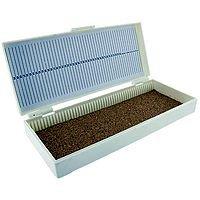 Microscope Slide Box - 50 Slides Capacity