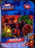 Marvel Heroes 50 Piece Puzzle in Collectors Tin - 1