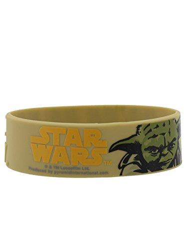 Star Wars Yoda braccialetto in gomma