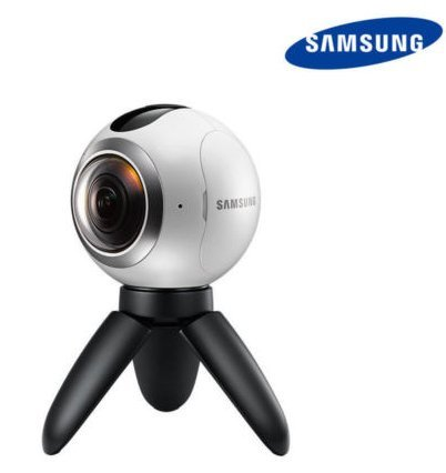 SAMSUNG Gear 360 SM-C200 Spherical Camera Create 360 VR Content For S7,S6,Note5