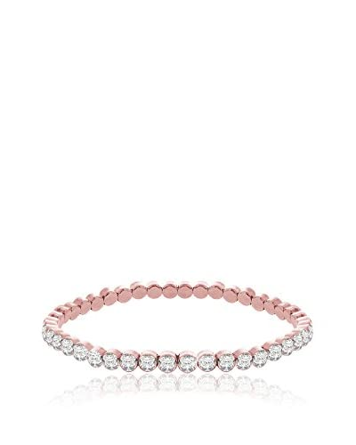 Diamond Style Pulsera Rose Tennis Rosa