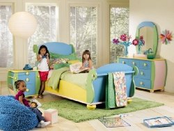 Powell Sunday Funnies Twin Bedroom Set