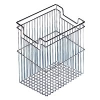 Richelieu 4056140 Polished Chrome Universal Tilting Laundry Basket