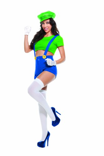 Green Video Game Player Costume