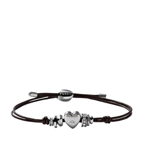Fossil Iconic Leathers JF00116040 Stainless Steel Bracelet