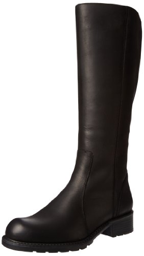 Clarks Women's Orinocco Eave Knee-High Boot,Black Leather,9.5 M US