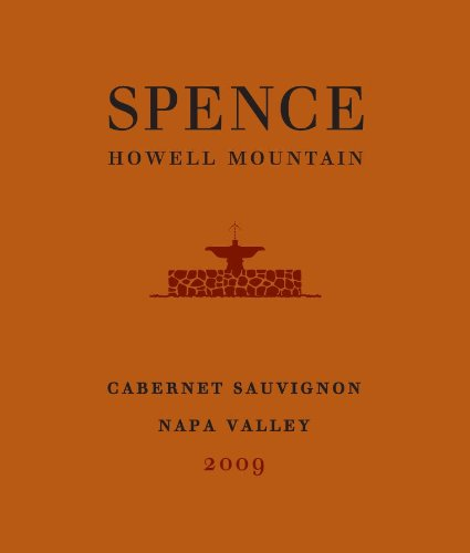 2009 Spence Cabernet Sauvignon Napa Valley 750 Ml