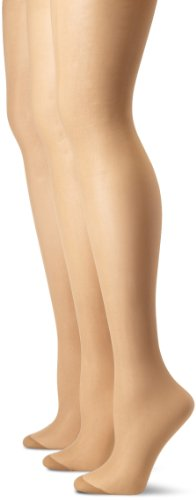 Pretty Polly Women's Plus-Size Curves Ladder Resist Tights, Sherry, XX-Large