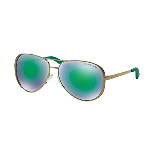 michael-kors-michael-kors-chelsea-mk5004-lunettes-de-soleil-femme-vert-gold-grun-verspiegelt-10043r-
