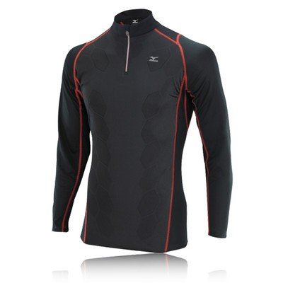 Mizuno DryLite Premium Half-Zip Long Sleeve Running Top