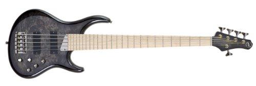 Mtd Kingston Bass Guitar Zx 5 String, Maple Fingerboard, Transparent Black