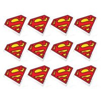 Superman Erasers 12 Count