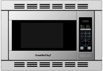 Convection Rv Microwave, 1.0 Cu.Ft., Stainless W/Trim Kit front-25415
