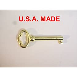 Grandfather Clock Door Key for Howard Miller, Ridgeway, Sligh, Emporer, Pearl, Seth Thomas, and Trend