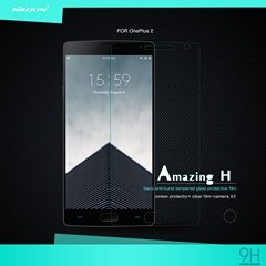 Zhopix Original Nillkin Amazing H Protective Tempered Glass For Oneplus 2 Two (A2001)