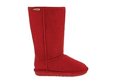 "Bearpaw Women's Emma 10"" Shearling Boot (5 B(M) US, Cranberry)"