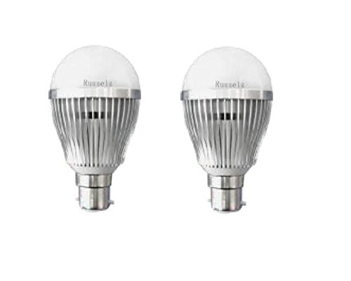 5 W LED Bulb (White, Pack of 2)
