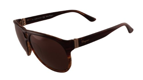 Salvatore Ferragamo SF634S Striped Brown 216