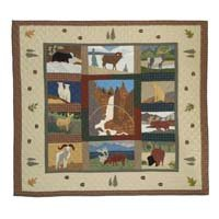 "Rocky Mountain Quilt King 105""x 95"" QKRCKY by Patch Magic"