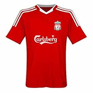 Liverpool Home Youth Soccer Jersey with shorts kids size YXL 10-1
