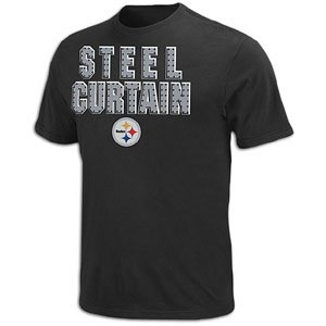 Men's Pittsburgh Steelers Inside Line Tee by VF Imagewear(Size=MEDIUM) from SteelerMania
