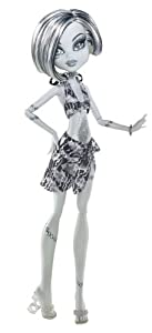 Monster High Skull Shores Black and White Frankie Stein Doll