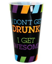 Kalan - I Don't Get Drunk I Get Awesome Drinking Cup - Standard