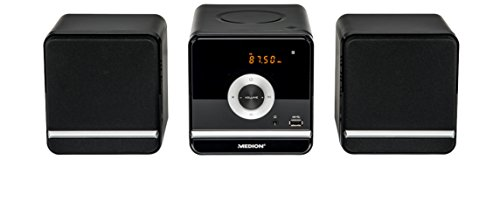 MEDION-LIFE-P64102-MD-84497-Micro-Audio-System-CD-MP3-USB-FM-UKW-20-Senderspeicher-2-x-5-Watt-RMS-5-Soundvoreinstellungen-schwarz