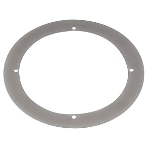SLV 227371 Big LED Plot Round 1 Beam Outdoor Ceiling, Wall & Ground Light Silver Grey from SLV Lighting