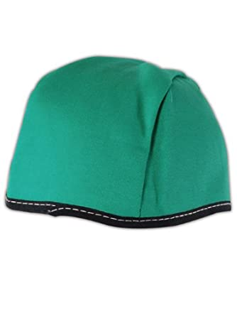Magid WC1L Green Flame Resistant Cotton Sparkguard Beanies, Large (Pack of 12 each)