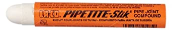 LA-CO PIPETITE-Stik Soft Set Pipe Thread Compound Stick, 350 Degree F Temperature