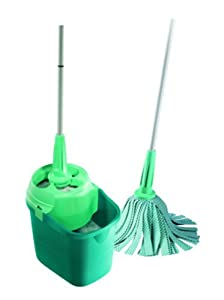 Leifheit 55400 Twister Strip Mop with Handled Bucket