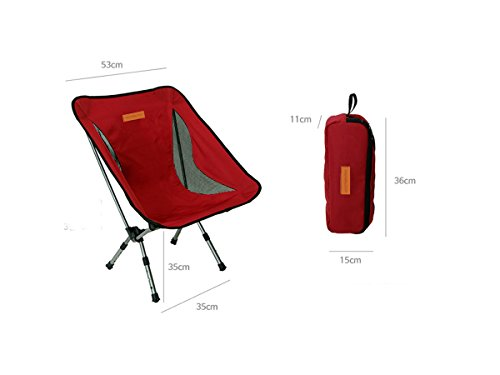 Trekology Compact Portable Camping Chair with Adjustable Height - Ultralight Backpacking Chair in a Bag for Camping, Fishing, Picnic, Patio, Sports, Events (Quest Bars Cheap compare prices)