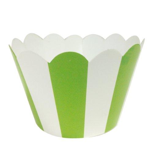 Wrapables Standard Size Striped Cupcake Wrappers (Set of 60) тонер картридж cactus cs tk320